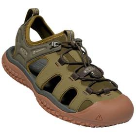 Solr Sandal Sandales pour homme Keen 493453840067 Couleur olive Taille 40 Photo no. 1