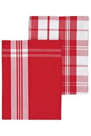 Linge de cuisine Cucina & Tavola 700360500030 Couleur Rouge / Blanc Dimensions L: 50.0 cm Photo no. 1
