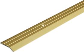 Abschluss-Profil 30 x 5 mm messingfarben 1 m alfer 605115800000 Bild Nr. 1