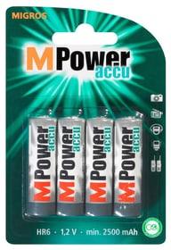 Akku HR6 1.2V 2500mAh (4Stk.) Akku Batterie M-Power 704749100000 Bild Nr. 1