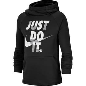 Boys' Training Pullover Hoodie Pull-over à capuche pour garçon Nike 466942512820 Couleur noir Taille 128 Photo no. 1