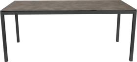 LOCARNO, 160 cm, struttura antracite, piano HPL Tavolo 753193616081 Taglio L: 160.0 cm x L: 80.0 cm x A: 74.0 cm Colore Grisallo N. figura 1