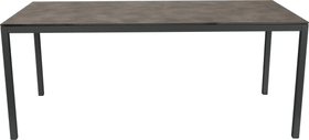 LOCARNO, Gestell Anthrazit, Platte HPL Gartentisch 753193616081 Grösse L: 160.0 cm x B: 80.0 cm x H: 74.0 cm Farbe Grisallo Bild Nr. 1