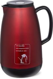 Pichet Isotherme ampoule en verre Cucina & Tavola 702423600030 Couleur Rouge Dimensions H: 24.5 cm Photo no. 1