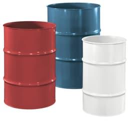 Metallfass 35L Do it + Garden 631306300000 Grösse Liter 35.0 l x B: 31.5 cm x T: 31.5 cm x H: 50.8 cm Farbe Gelb Bild Nr. 1
