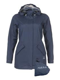 Elenor Veste de pluie pour femme Rukka 498430203422 Taille 34 Couleur bleu foncé Photo no. 1