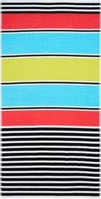 SARAH Serviette de plage 450867022591 Couleur Multicouleur Dimensions L: 90.0 cm x H: 180.0 cm Photo no. 1