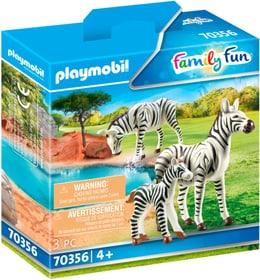 70356 2 Zebras mit Baby PLAYMOBIL® 748031100000 Bild Nr. 1