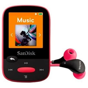 Clip Sport 8Go - Pink MP3 Player SanDisk 785300124257 Photo no. 1