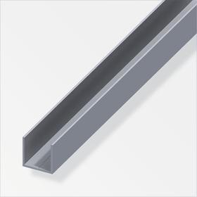 Quadrat-U 1.5 x 15.5 mm blank 1 m alfer 605005800000 Bild Nr. 1