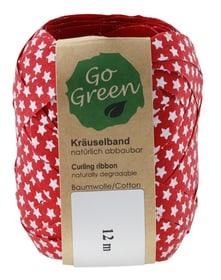 Go Green Geschenkband Weihnachtsdekoration Geroma 657926800000 Farbe Rot Grösse L: 12.0 m x B: 1.0 cm Bild Nr. 1