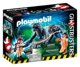 Playmobil Ghostbusters Venkman und Terror Dogs 9223