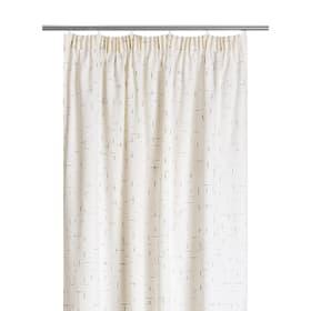 XENA Rideau opaque prêt à poser 372095222010 Dimensions L: 150.0 cm x H: 270.0 cm Couleur Blanc Photo no. 1