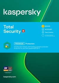 Total Security (1 PC) [PC/Mac/Android] (D/F/I) Software Kaspersky 785300154587 Photo no. 1