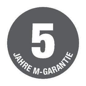 5 anni di garanzia