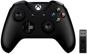 Manette Xbox + adapteur sans fil pour Windows 10 Microsoft 798243600000 Photo no. 1