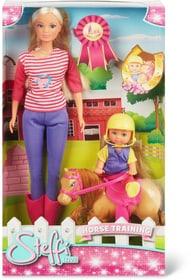 Steffi Love Horse Training Set di bambole Simba 746538800000 N. figura 1