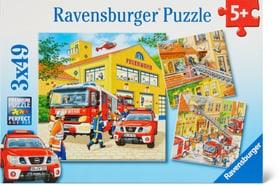 Feuerwehreinsatz Puzzle Puzzle Ravensburger 748977600000 Bild Nr. 1