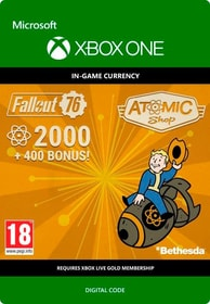 Xbox One - Fallout 76: 2K (+400 Bonus) Download (ESD) 785300140342 Photo no. 1