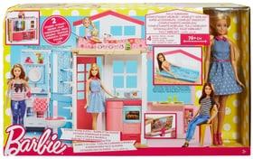 W18 BARBIE 2-ETAGEN FERIENHAUS INKL. PUP Barbie 74454310000016 Bild Nr. 1