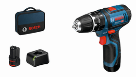 GSB 12V-15, 2 Akkus Schlagbohrschrauber Bosch Professional 616120100000 Bild Nr. 1