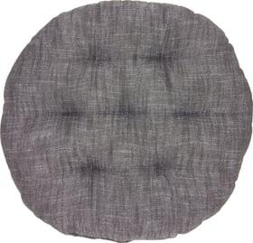 TIAGO Cuscino sedia 450714841020 Colore Nero Dimensioni L: 37.0 cm x A: 37.0 cm N. figura 1