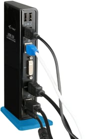 USB 3.0 Dual + USB Charging Port Station d'accueil i-Tec 785300147207 Photo no. 1