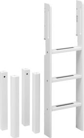 WHITE Lit mi-hauteur Flexa 404781900000 Photo no. 1