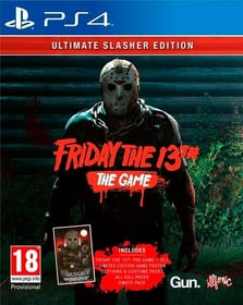 PS4 - Friday the 13th - Ultimate Slasher Edition D Box 785300139078 Bild Nr. 1