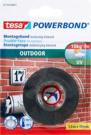 Montageband Outdoor Tesa 663060100000 Farbe Grün Grösse L: 1.5 m x B: 19.0 mm Bild Nr. 1