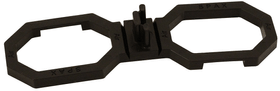 air 6,5mm  40 pz.  ca. 2,8mq Spax 607110600000 Contenuto (pz.) 40 Taglio 6.5 mm N. figura 1