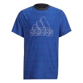 AEROREADY Heather T-Shirt Fitnessshirt Adidas 466867912840 Grösse 128 Farbe blau Bild-Nr. 1