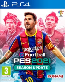 PS4 - eFootball PES 2021 - Season Update D/F Box 785300154452 Langue Allemand, Français Plate-forme Sony PlayStation 4 Photo no. 1