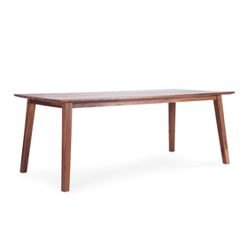 ADAMS Tavolo in legno massiccio 366091200000 Dimensioni L: 200.0 cm x P: 95.0 cm x A: 75.0 cm Colore Noce N. figura 1