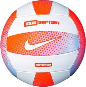 Volleyball Softset 1000 Outdoor Pallone da beach volley Nike 461968200534 Taglie 5 Colore arancio N. figura 1