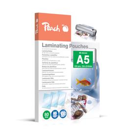 A5 80 micron buste per plastificazione Peach 785300126754 N. figura 1