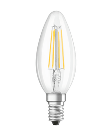 SUPERSTAR CLASSIC B40 LED E14 4.5W wamweiss Osram 421079700000 Bild Nr. 1