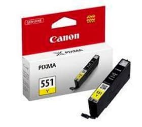 CLI-551Y yellow Tintenpatrone Canon 796078700000 Bild Nr. 1