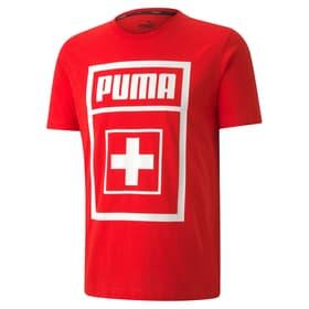 DNA Fanshirt Schweiz Fussball Fan T-Shirt Puma 498292600430 Grösse M Farbe rot Bild-Nr. 1