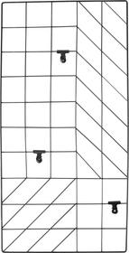 LANE Griglia per pareti 433015400000 N. figura 1