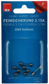 Feinsicherung Flink 3.15A 5 Stk. Max Hauri 612528600000 Bild Nr. 1