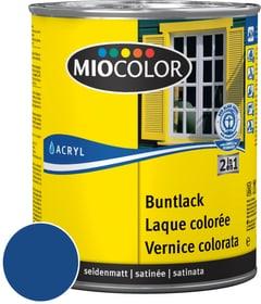 Acryl Buntlack seidenmatt Enzianblau 125 ml Acryl Buntlack Miocolor 660552000000 Farbe Enzianblau Inhalt 125.0 ml Bild Nr. 1