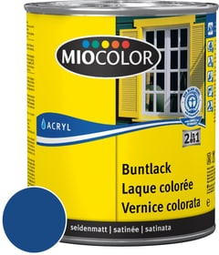 Acryl Vernice colorata satinata Blu genziana 125 ml Miocolor 660552000000 Colore Blu genziana Contenuto 125.0 ml N. figura 1