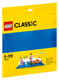 Classic 10714 Plaque De Base Bleue LEGO® 748873000000 Photo no. 1