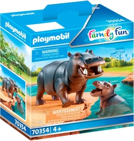 70354 Hippopotame et petit PLAYMOBIL® 748029900000 Photo no. 1