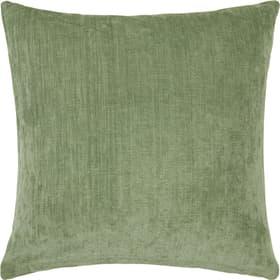 AMANDA Coussin décoratif 450733340560 Couleur Vert Dimensions L: 50.0 cm x H: 50.0 cm Photo no. 1