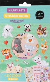 Stickerbook, Pets, 6 Blatt 666784400000 Bild Nr. 1