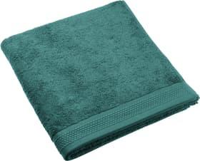 NATURAL FEELING Serviette de bain 450873120563 Couleur vert foncé Dimensions L: 70.0 cm x H: 140.0 cm Photo no. 1
