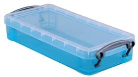 contenitore 0.55L Really Useful Box 603730900000 Taglio L: 22.0 cm x L: 10.0 cm x A: 4.0 cm Colore Acqua N. figura 1