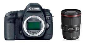 EOS 5D Mark IV + EF 16-35mm 4L IS Kit appareil photo reflex Canon 785300126140 Photo no. 1